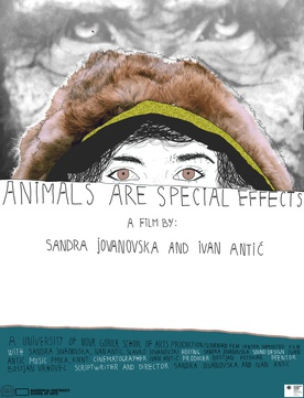Plakat: Animals are Special Effects (2017).
