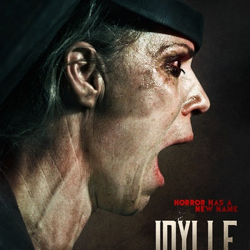 The poster for Idila (2015).