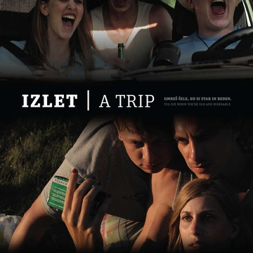 The poster for Izlet (2011). In this photo:  Luka Cimprič, Jure Henigman, Nina Rakovec