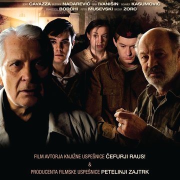 The poster for Piran - Pirano (2010). In this photo:  Boris Cavazza, Nina Ivanišin, Vlado Novak