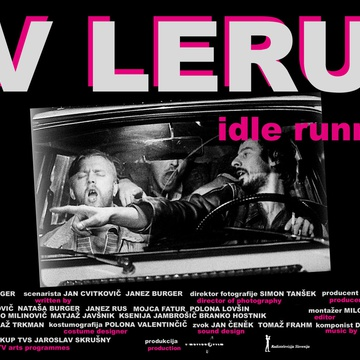 The poster for V leru (1999). In this photo:  Jan Cvitkovič, Matjaž Javšnik
